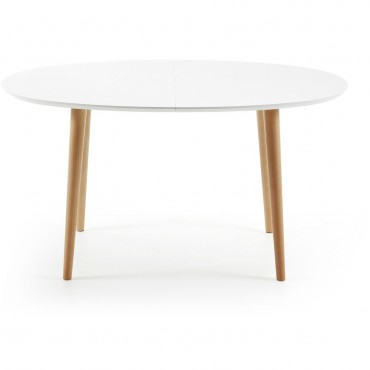 MESA EXTENSIBLE OAK-O WHITE