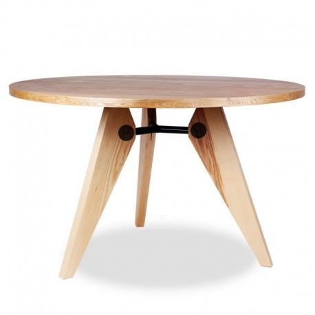 Mesa gueridon prouve mesas de dise o mesas redondas de for Mesas redondas de diseno