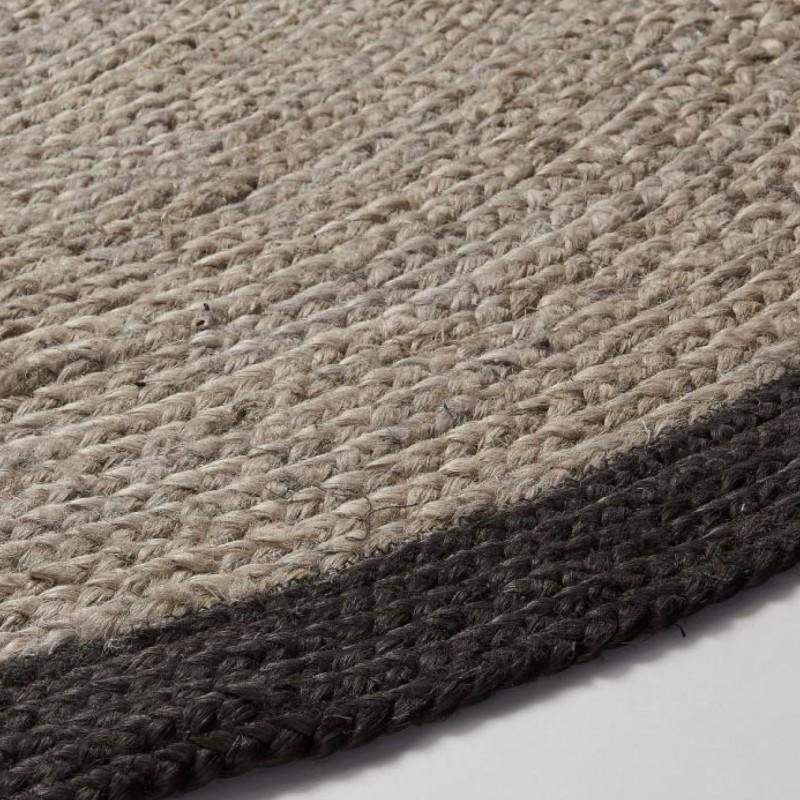 Alfombras de yute alfombras de fibra alfombras redondas - Alfombras yute a medida ...