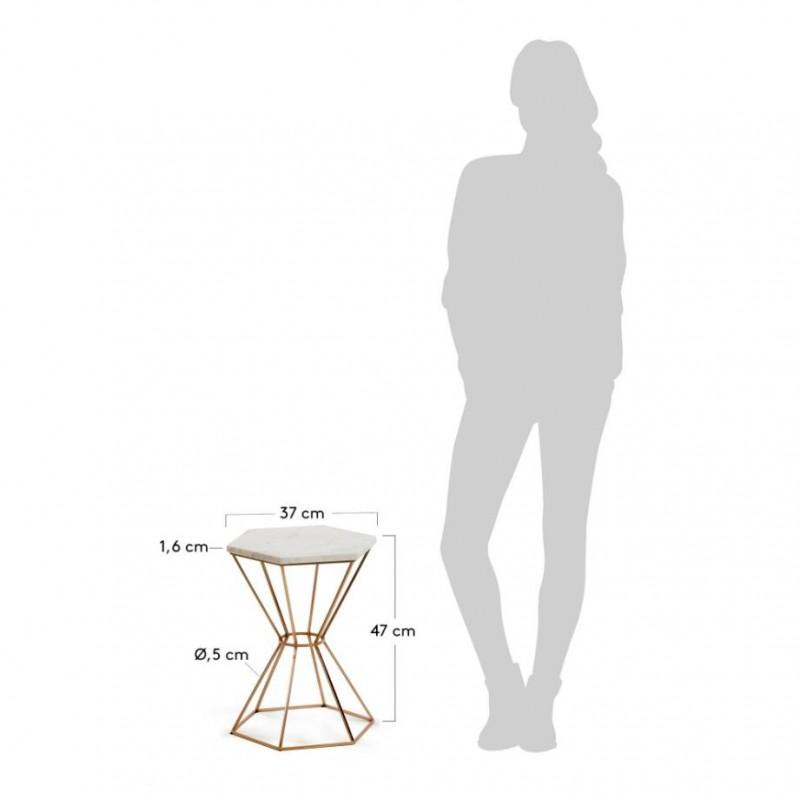 Mesa auxiliar de m rmol mesa auxiliar moderna mesa for Vajilla moderna barata