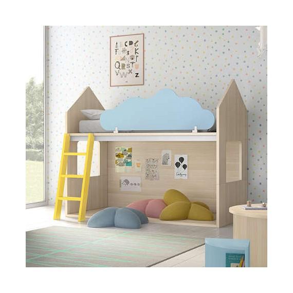 Litera Con Forma De Casita De Inspiración Montessori Perfecta Para