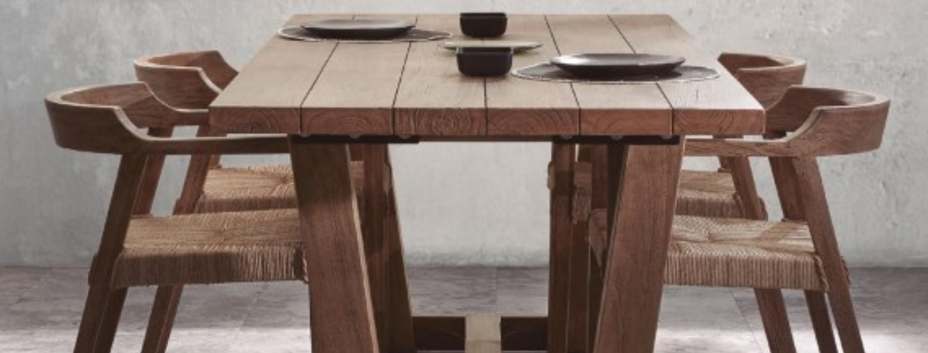 Los muebles que no pueden faltar este verano en tu terraza o jardín mesa