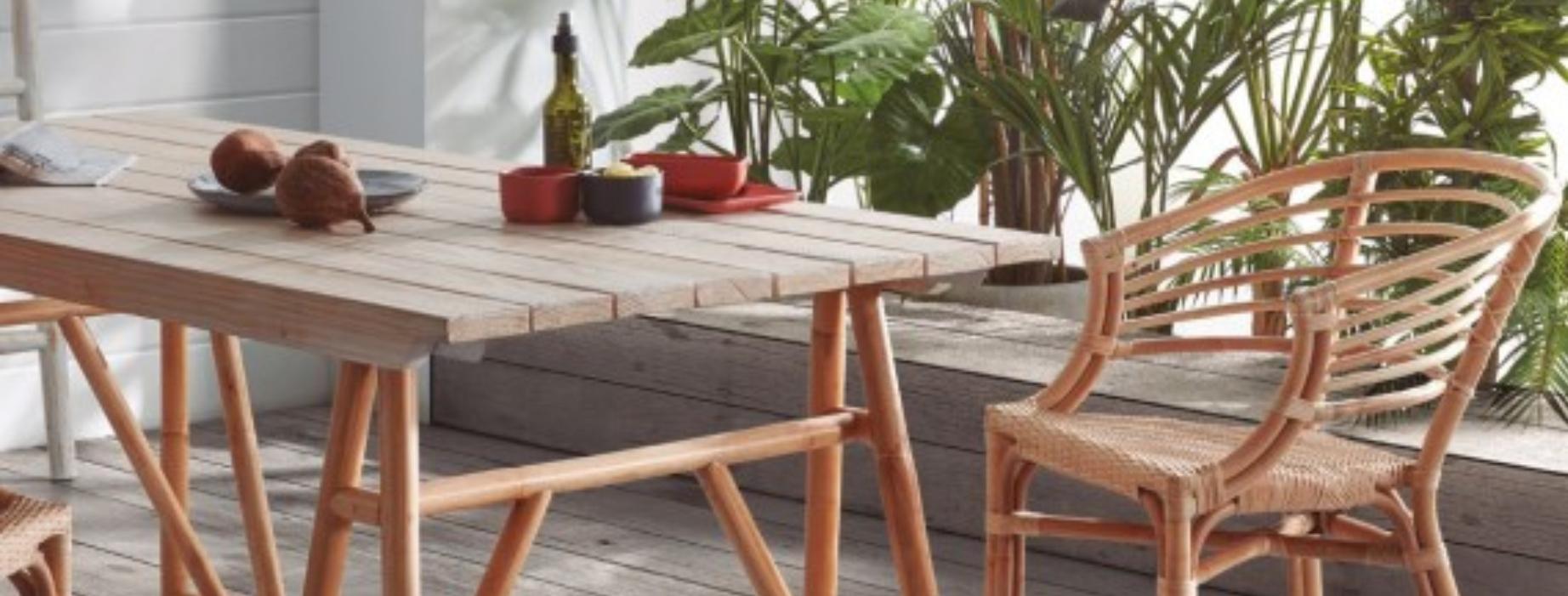 Los muebles que no pueden faltar este verano en tu terraza o jardín